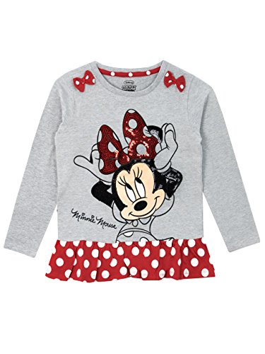 Disney Minni Maus Mädchen Minnie Mouse Langarmshirt 86 cm