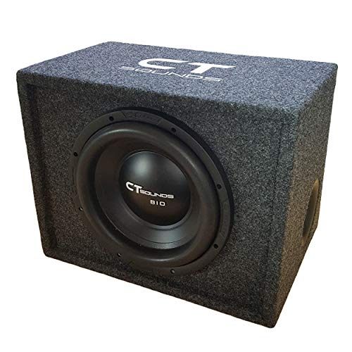 CT Sounds 12 Inch Subwoofer Bass Package in Ported Box (Factory TUNED & TESTED)