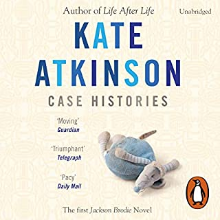 Case Histories     Jackson Brodie              By:                                                                                                                                 Kate Atkinson                               Narrated by:                                                                                                                                 Susan Jameson                      Length: 10 hrs and 41 mins     33 ratings     Overall 4.5