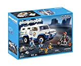 playmobil city action vehiculo blindado