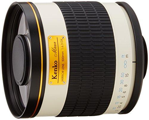 Kenko望遠レンズミラーレンズ500mmF6.3DXマニュアルフォーカスフィルム/デジタル一眼対応