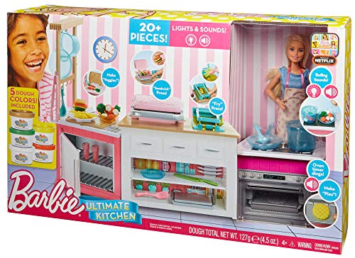 Ensemble de Cuisine Barbie Ultime - FRH73 - 5