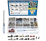 737pcs PC Computer Screw Standoffs Assortment Kit for Hard Drive Computer Case Motherboard...