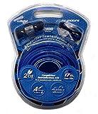 4 Gauge Platinum Series Amplifier Installation Kit - Complete 2100 Watt Car Audio Systems
