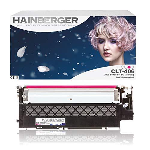 Hainberger XL Toner Magenta kompatibel zu Samsung Xpress C410W CLP-365/SEE CLP-365 360 Series CLX 3300 Series 3305 FN FW Xpress C 460 FW