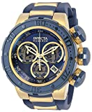 Invicta Reserve Subaqua Sea Dragon Men's Chronograph 52mm Case Blue Silicone Strap Watch (32765)