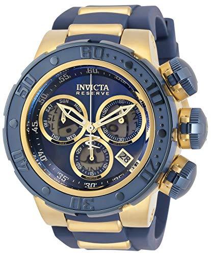 Invicta Reserve Subaqua Sea Dragon Men's Chronograph 52mm Case Blue Silicone Strap Watch (32765)