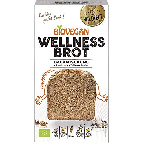 Biovegan Bio Brotbackmischung Wellness, BIO (2 x 320 gr)