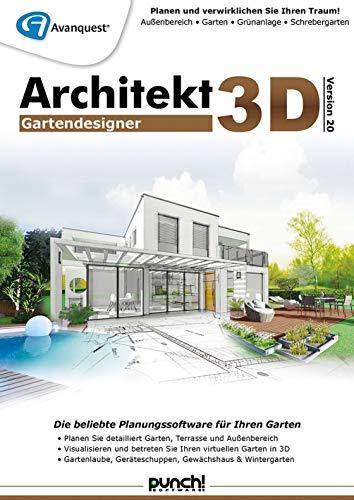Architekt 3D 20 Gartendesigner | Gartendesigner | PC | PC Aktivierungscode per Email