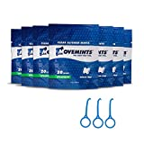 Movemints Clear Aligner Mints (7 Pack) & OrthoKey Removal Tool (3 Pack) - Specifically Designed for Invisible Braces - Spearmint Flavor