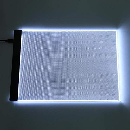 Led Light Tracing Pad Tableta Gráfica Led A4 Escritura Pintura Caja De Luz Tablero De Trazado Almohadillas De Copia Tableta De Dibujo Digital Artcraft Mesa De Copia A4 Tablero Led