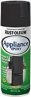 Rust-Oleum 330146 12 OZ Black Stainless Appliance Enamel