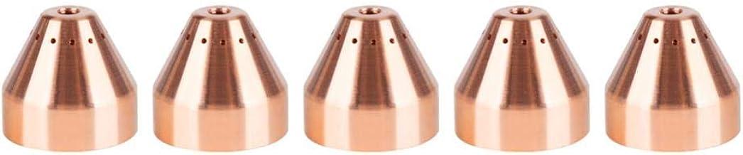 220993 مشعل پلاسمای برش پلاسما مقاوم در برابر حرارت ، کلاه محافظ قابل استفاده ، مناسب برای مشعل برش پلاسما MAX105 ، بسته 5