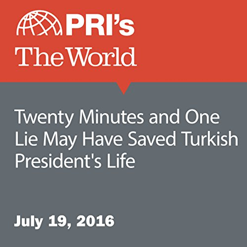 Twenty Minutes and One Lie May Have Saved Turkish President's Life audiobook cover art