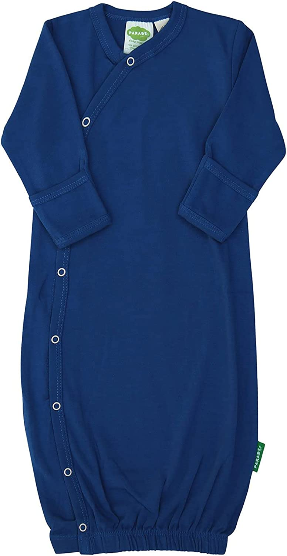PARADE Kimono Gowns - Essentials Royal Blue 0-3 Months