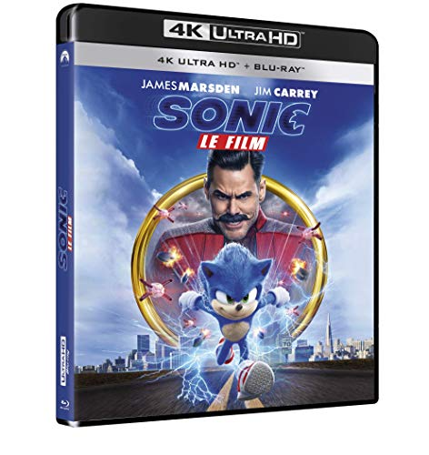 Sonic, Le Film [4K Ultra HD + Blu-Ray]