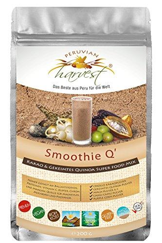 UHTCO Peruvian Harvest Smoothie Q | Super Food Mix 200g | Das Beste aus Peru für die Welt