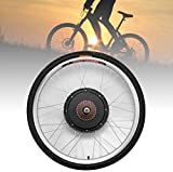 HaroldDol - Kit de conversión para bicicleta eléctrica (ruedas traseras, 26 pulgadas, 36 V, 500 W, 800 W), tamaño 500W, tamaño de rueda 26.0