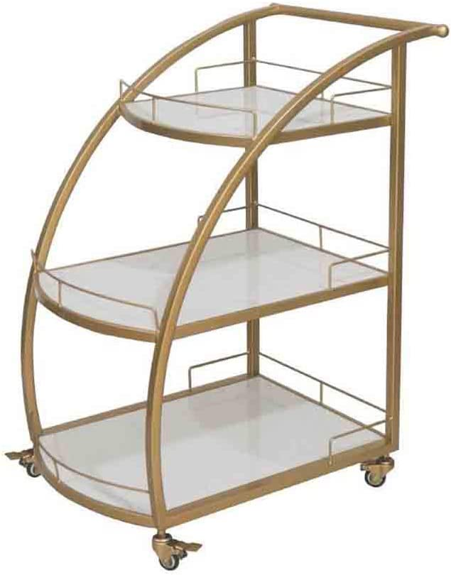 Portland Mall WHEEJE Metal Dining Cart Commercial Mobile price Kitchen Tr Restaurant