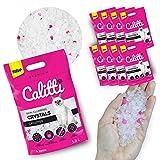 Calitti - Silikat Katzenstreu | Premium Crystals Silikatstreu | Antibakteriell Katzensand | 8-er Set 8 x 3,8 L = 30 L