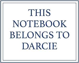This Notebook Belongs to Darcie