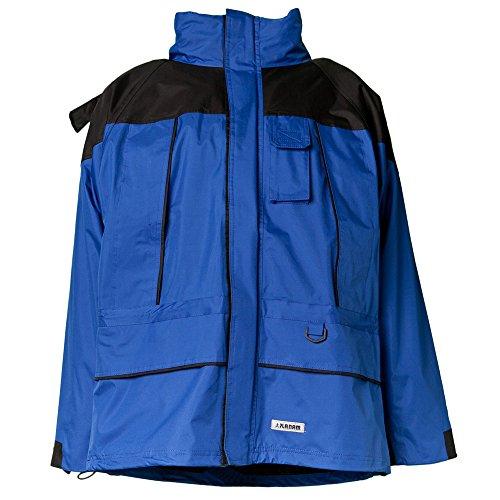 Planam Winterjacke 3-in-1 Twister, Gr. M, blau / schwarz, 3130