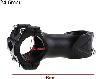 JIUY SM24 Ultra l/éger r/églable V/élo VTT V/élo en Alliage daluminium /à Court Potence Fixe Riser 31 8mm Bar Bike Tige