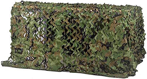 Red de Camuflaje para la Caza Redes Caza, Tiro y Acampada Acampar y Dar Sombra Libre Sombra Proteger del Viento (Size:6 * 8m/20 * 24ft)