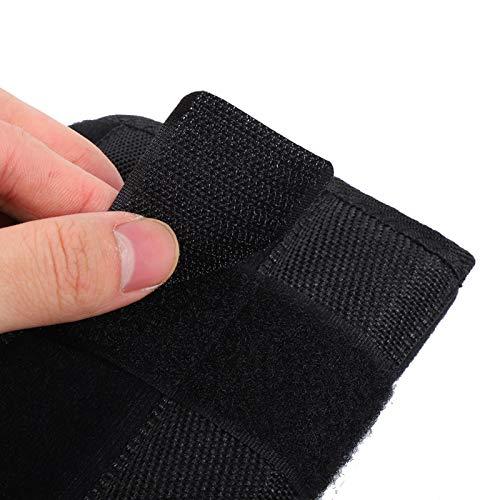 Demeras Atmungsaktives Schulter-Wegfahrsperre-Unterarm-Fixierband für die Gesundheit für die Körperpflege(Schwarz, S)