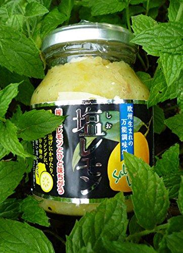 爽やかな酸味とまろやかなしょっぱさが新鮮 塩レモン(国産レモン使用) 5個セット
