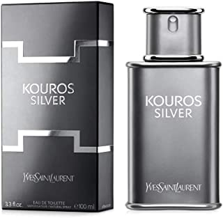 Yves Saint Laurent Kouros Silver - perfume for men, 100 ml - EDT Spray