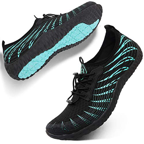 Spesoul Womens Mens Water Sports Shoes Outdoor Quick Dry Barefoot Athletic Aqua Shoe for Beach Swim Pool Surf Diving Yoga 11 Women/8.5 Men