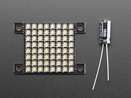 Adafruit 8x8 DotStar-Matrix - 64 RGB-LEDs - Platinenabmessung nur 25.4 x 25.4 mm