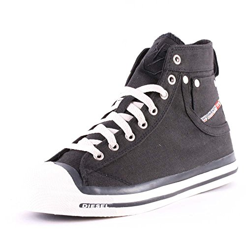 Diesel Damen Magnete Exposure Mid High-Top, Weiß (T1002 T1002), 41 EU