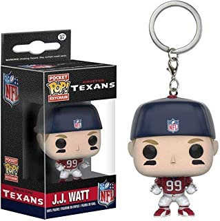 Funko POP Keychain: NFL - JJ Watt Action Figure