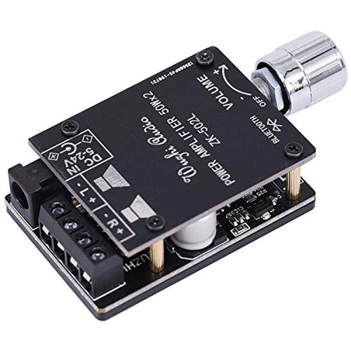 KU Syang 5.0 Audio InaláMbrico Amplificador de Potencia Digital Tablero EstéReo 50Wx2 Amplificador Amplificador ZK-502L