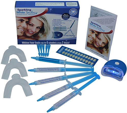 Spa Series Bright White Professional Teeth Whitening System for Optimal Results....