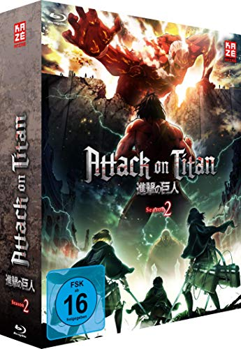 Attack on Titan - Staffel 2 - Vol. 1 - [Blu-ray] mit Sammelschuber