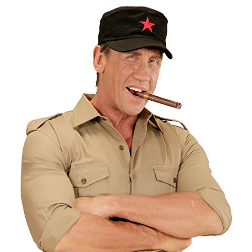 Amakando Gorra de bisbol con estrella roja, gorra comunista, gorra de malla, para el socialismo de Cuba, gorra de bisbol, accesorio para disfraz de carnaval