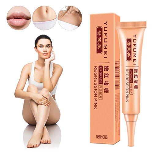Crème de blanchiment intime, 30 ml de peau de femme éclaircissante rajeunissante de peau privée Aisselle pour les lèvres