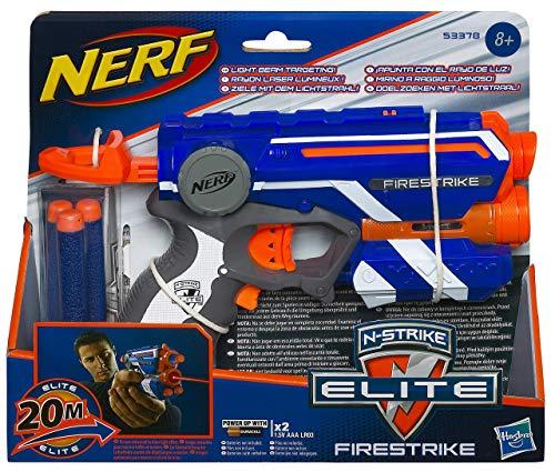 Nerf Elite firestrike Pistola con luz (53378EU4)