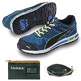 [プーマ] 安全靴 ブレイズ・ニット・ロー 25.0cm 整理仕分けバッグ付セット 64.236.0