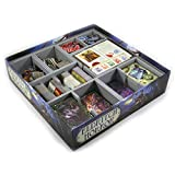 Folded Space Eldritch Horror and Single Small Box Expansion Board Game Box Inserts Organizer