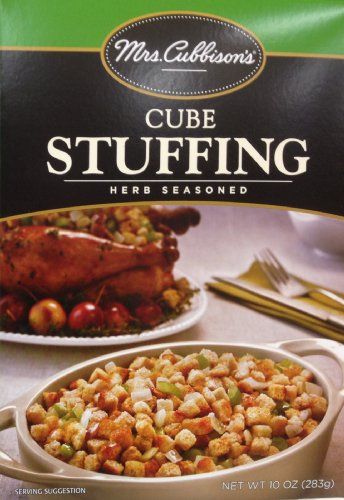 Mrs. Cubbison's Herb Seasoned CUBE Stuffing 10oz. (6 Boxes)