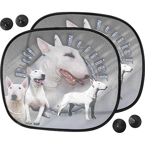 Pets-easy - Parasol para perro, coche de Bull Terrier