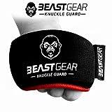 Beast Gear Protezioni per Nocche Professionali da Indossare sotto i Guantoni – Paranocche per Boxe, Pugilato, Kick Boxing, MMA e Sport di Combattimento