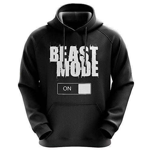 FABTEE - Beast Mode - Männer Hoodie - verschiedene Farben - Größen S-3XL
