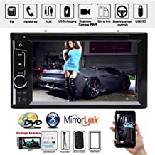 6.2 inch HD Digital Touch Screen CD DVD Player Radio Bluetooth in Dash AUX USB Screen Mirror Link for 02 03 04 05 06 Ford Expedition Explorer Lincln Car Radio Bluetooth Stereo