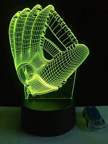 3D Illusion Night Light bluetooth smart Control 7&16M Color Mobile App Led Vision Bedroom h decoration friends kids kids bedroom shop bedroom 3-in-1 mode USB button