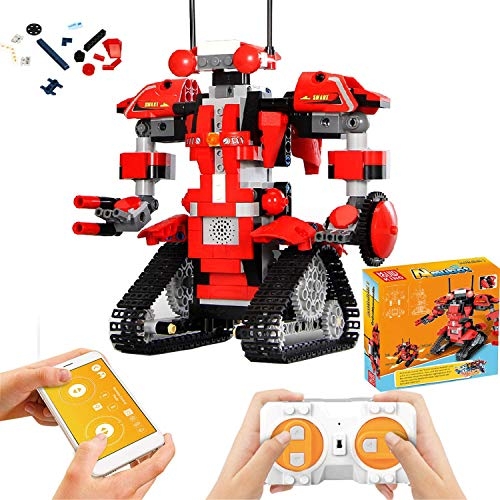 top rated RitastarAPP Remote Control Robot Building Block Creative Toolbox Educational Smart Tracked RC… 2020